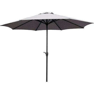 9 Market Umbrella Color: Gray