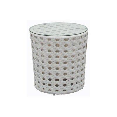 Resin Wicker Side Table 92241