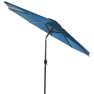 9 Market Umbrella Fabric: Royal Blue
