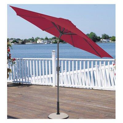9 Market Umbrella Fabric: Burgundy
