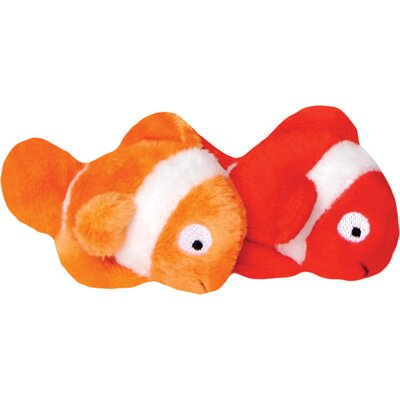 Buy low price loopies catnip clown fish plush cat toy set for Fish cat toy