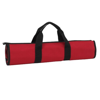 B.B.Q-Chef's Barbeque Apron and Tools Color: Red