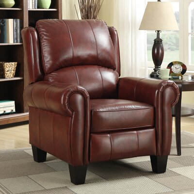 Barrington Leather Manual Recliner