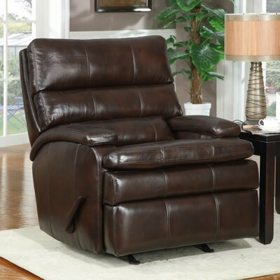 Belmont Leather Rocker Recliner
