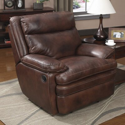 Clarkston Leather Manual Rocker Recliner