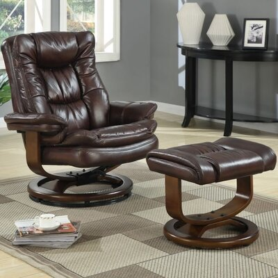 At Home Designs Scandia European Chair and Ottoman Set - Color: Mocha at Sears.com