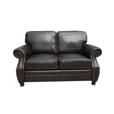 Laredo Leather Loveseat