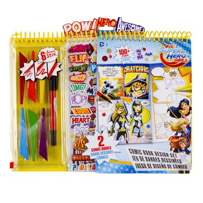 DC Super Hero Girls Comic Book Design Set 32214