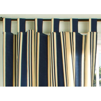 "Thermalogic™ Weathermate Broad Stripe Insulated 40"" Curtain Valance - Color: Navy at Sears.com"