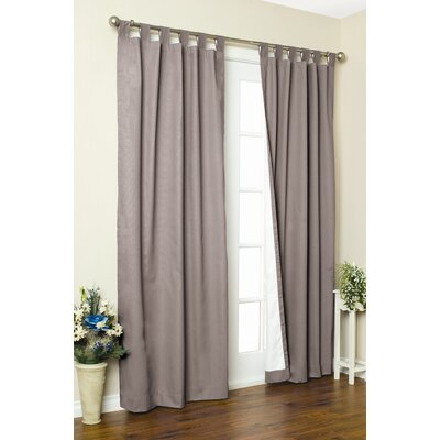 "Thermalogic Weathermate Solid Insulated Color Tab Top Curtain Pairs - Size: 84"" H x 160"" W, Color: Pewter at Sears.com"