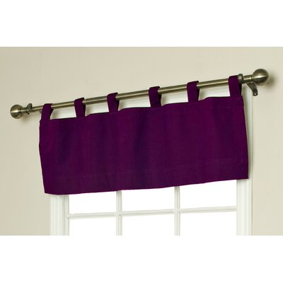 """Thermalogic™ Weathermate Solid 40"""" Curtain Valance - Color: Burgundy at Sears.com"""