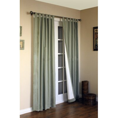 "Thermalogic Weathermate Solid Cotton Tab Top Curtain Pair - Size: 95"" H x 80"" W, Color: Sage at Sears.com"