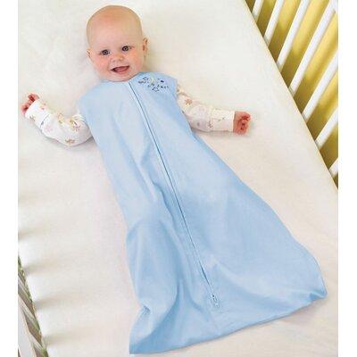 4c38efd426 HALO Innovations 100% Cotton SleepSack Wearable Blanket in Baby Blue Size   Medium