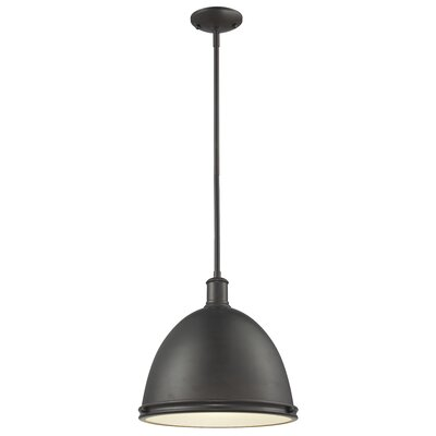 Marquise 1-Light Mini Pendant Finish: Bronze, Size: 61.5 H x 13 W x 13 D