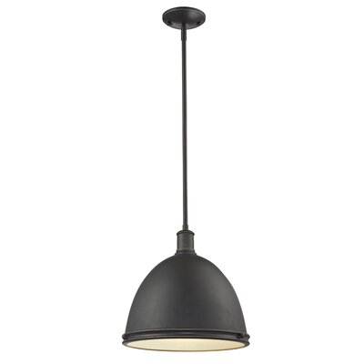 Marquise 1-Light Mini Pendant Finish: Olde Bronze, Size: 61.5 H x 13 W x 13 D