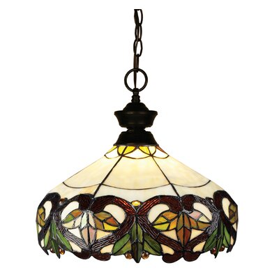 Biller 1-Light Bowl Pendant