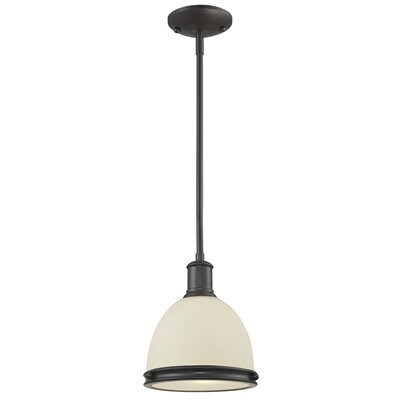 Marquise 1-Light Mini Pendant Finish: Bronze, Size: 57.25 H x 8 W x 8 D