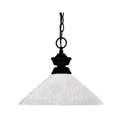 Shark 1-Light Billiard Pendant