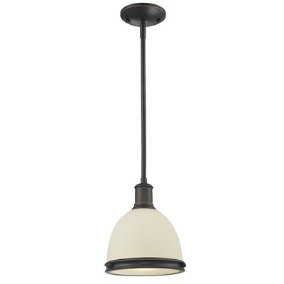 Marquise 1-Light Mini Pendant Finish: Olde Bronze, Size: 57.25 H x 8 W x 8 D