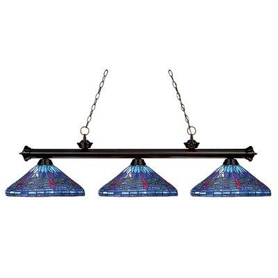 Earls 3-Light Billiard Light
