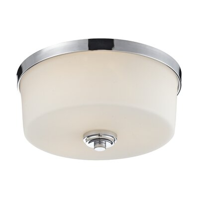Wheatley 3-Light Flush Mount Finish: Chrome