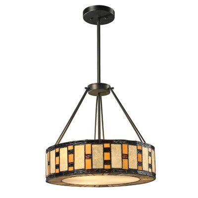 McManus 3-Light Drum Pendant