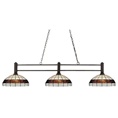 Challenger 3-Light Billiard Pendant