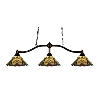 Chance 3-Light Billiard Light