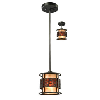 Hutto 1-Light Mini Pendant