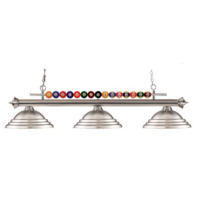 Chapa 3-Light Pool Table Light