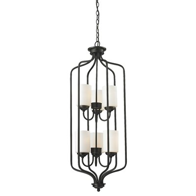 Weatherly 6-Light Foyer Pendant