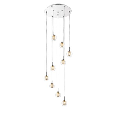 Sedlacek 9-Light Cascade Pendant
