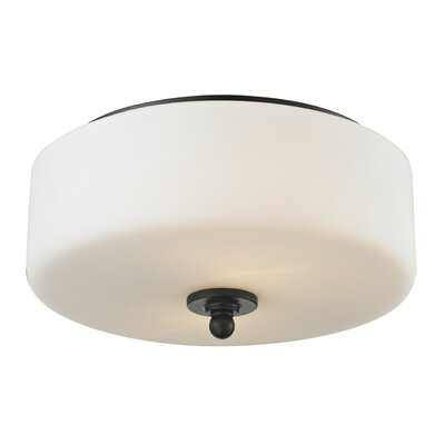 Cardinal 2-Light Flush Mount