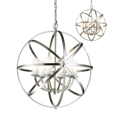 Aranya 6-Light Foyer Pendant