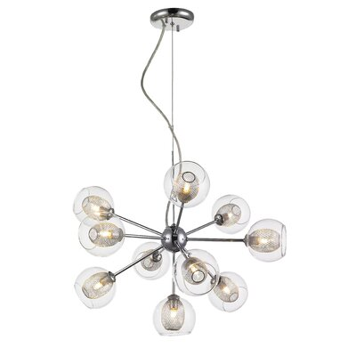 Sedlacek 10-Light Sputnik Chandelier