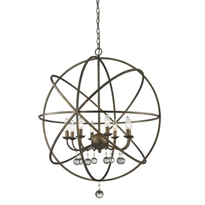 Leonora 8-Light Foyer Pendant Base Finish: Golden Bronze