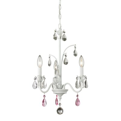 Dutil 3-Light Crystal Chandelier
