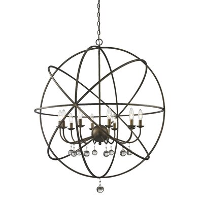 Acadia 10-Light Globe Pendant Base Finish: Golden Bronze