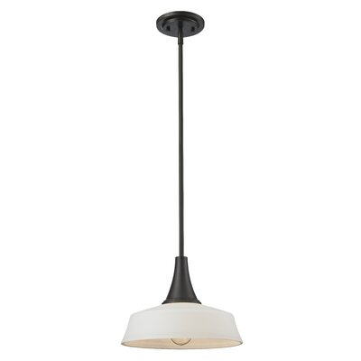 Montego 1-Light Mini Pendant Base Finish: Coppery Bronze