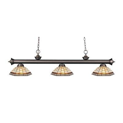 Billington 3-Light Billiard Light Color: Olde Bronze