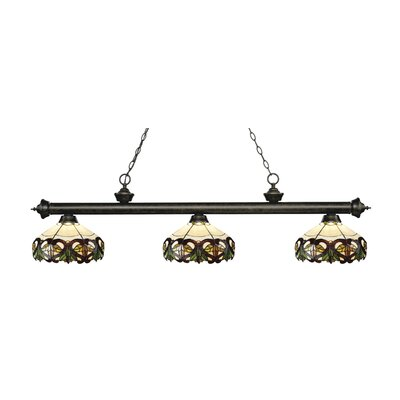 Billington 3-Light Billiard Light Color: Golden Bronze
