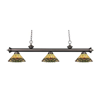 Billington 3-Light Billiard Light Finish: Olde Bronze