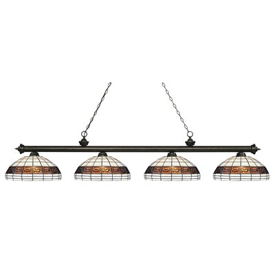 Billington 4-Light Billiard Light Finish: Golden Bronze