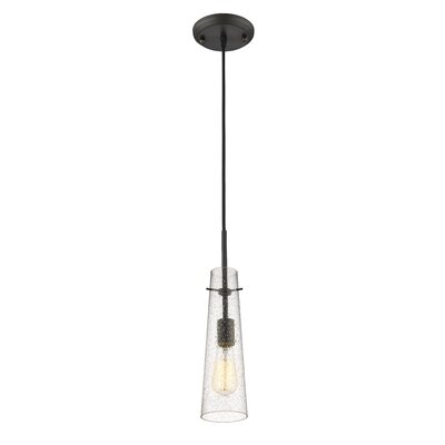 Gholson 1-Light Mini Pendant Finish: Bronze