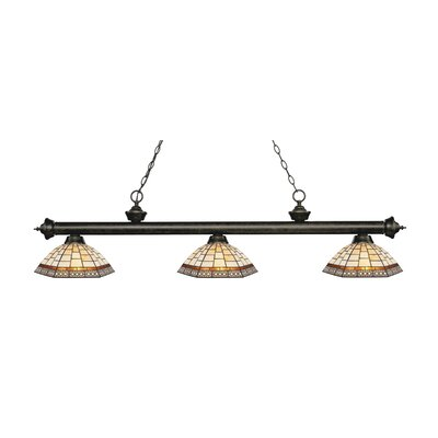 Billington 3-Light Billiard Light Finish: Golden Bronze