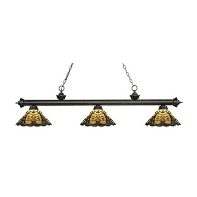 Riviera 3-Light Billiard Light Finish: Golden Bronze