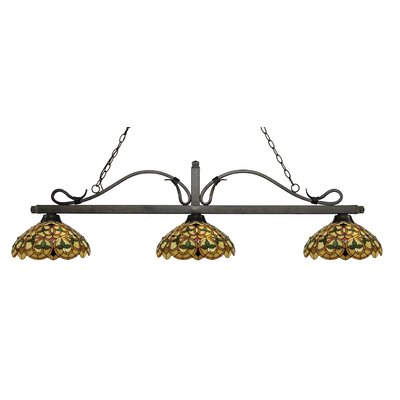 Cendejas 3-Light Billiard Light Finish: Golden Bronze