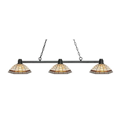 Centeno 3-Light Billard Light Finish: Bronze