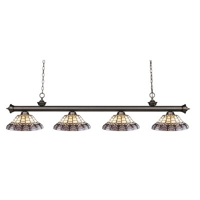 Riviera 4-Light Billiard Light Finish: Olde Bronze