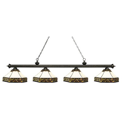 Riviera 4-Light Billiard Light Finish: Golden Bronze